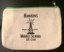 Hawkins Middle School AV Club Pencil Bag