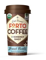 Forto Cold Brewed Coffee 2x Energy Shot
