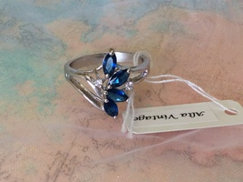Alta Vintage Sterling Silver Ring Size 7