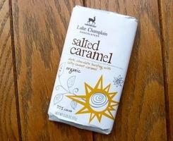 Organic Salted Caramel Chocolate Bar