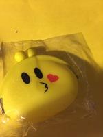 Emoji change purse