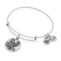 Alex and Ani Sacred Dove bangle