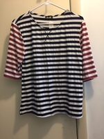 Dee Elle striped top