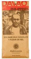Davao Dark Milk Chocolate + Fleur De Sel