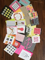 Happy Mail Lot: Cards, Art Prints, Stickers