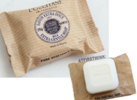 l'Occitane Milk soap