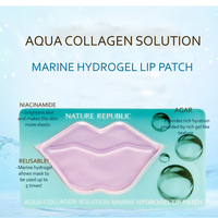 Nature Republic Aqua Collagen Solution Marine Hydrogel Lip Patch
