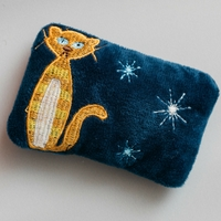 Mid Century Modern Catnip Pillow Toy