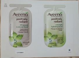 Aveeno Positively Radiant Facials