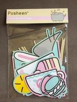 Pusheen Photo Booth Props