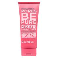 Formula 10.0.6 Pores be pure skin-clarifying mud mask with strawberry and yarrow