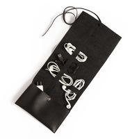 Brouk & Co.  Travel Cord Roll Black
