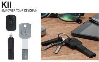 BlueLounge Kii Apple Lighting Cable for Keychain