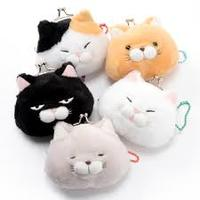 Cat plush coin purse