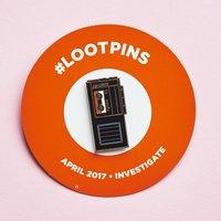 Loot Crate Investigate Loot Pin April 2017 Investigate