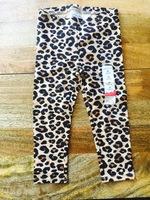 Chetah leggings, size 3T