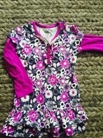 Dress with flowers, size 3T