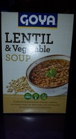 Goya Lentil & Vegetable Soup