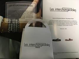 Les Interchangeables Swarovski Bracelet-Black