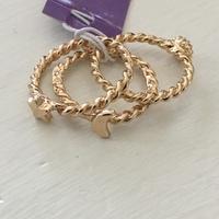 Gold Stacking Rings