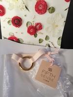 Fifth Sense Bracelet: Pink and Gold