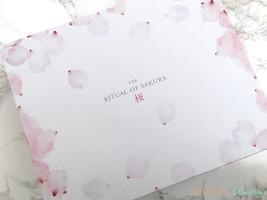 GlossyBox The Ritual of Sakura BOX ONLY
