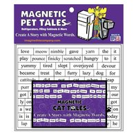 Magnetic Pet Tales (Cat) Word Magnets