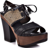 Bacio 61 Soffio Sandal 9.5 Leather Shoe from Little Black Bag