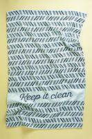 Floor 9 Keep It Clean Tea Towel