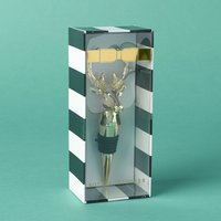 8 Oak Lane Holiday Stag Bottle Stopper