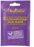 Shea moisture kukui nut & grapeseed oils youth infusing mud mask