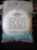 Daily Concepts Exfoliating Body Scrubber With Smart Technology (mild)