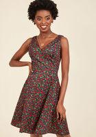 Jubilant Je Ne Sais Quois A-Line Dress in 2X