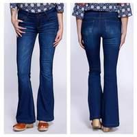 Celebrity Pink Flared Jeans
