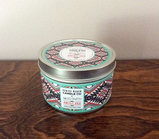 Americana Candle with Betty Studs by Jules Smith