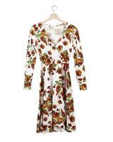 Tavery Criss-Cross Floral Dress