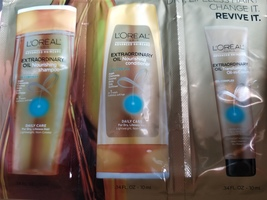 Loreal extraordinary oil Nourishing shampoo conditioner oil in creme