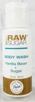 Raw Sugar Body Wash, travel size