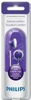 Philips Earbud Comfort Headphones, Purple