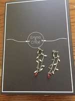 Emma & Chloe Elsa CLIP ON Non-Pierced Earrings