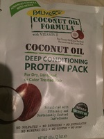 Palmers coconut oil deep conditioner treatment