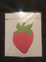 Studio Calico Strawberry sticky notes