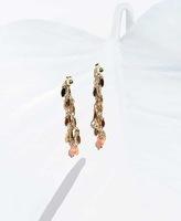 4 Crosses Elsa Earrings Gold Clip On