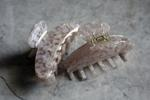 Rose Shell Granite Hair Claw