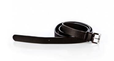 Ripauste Black Leather Belt