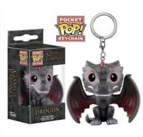 Game Of Thrones Dragon Pocket Pop Keychain