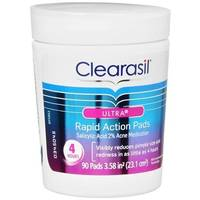 Clearasil Ultra Acne Medication Rapid Action Pads