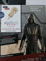 Assassin's Creed 3d wood model