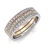 "Elizabeth ""Faithful"" 18k Gold Plated Swarovski Ring"