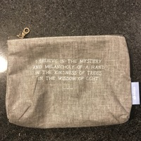 Davines Travel Cosmetic Pouch